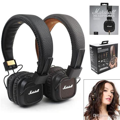 Marshall Major Mk Ii Accs 00175 Black marshall major mk ii 2 black headphones new generation