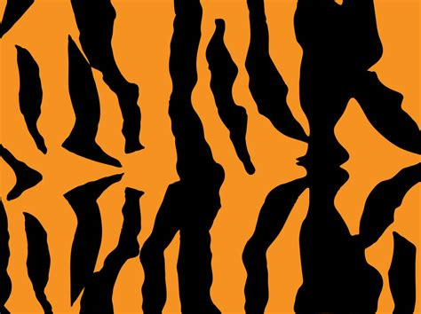 tiger pattern seamless vector tiger fur pattern vector art graphics freevector com