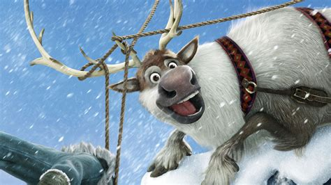wallpaper frozen sven sven frozen wallpaper cartoon wallpapers 26024