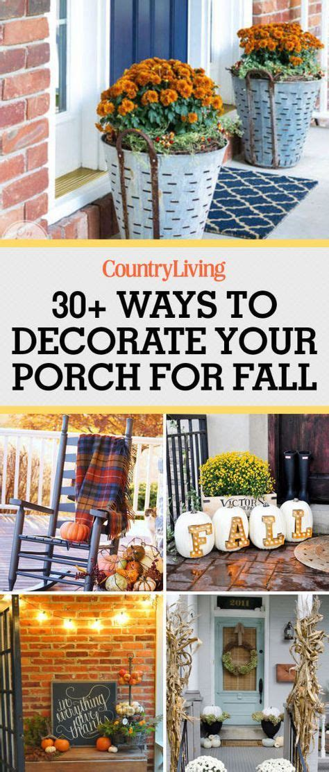 33 cozy ways to decorate your porch for fall seasons home design and home