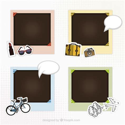 Frame Scrapbook picture frames for scrapbook vector free