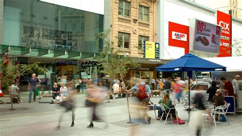 rundle mall adelaide south australia attraction