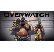 &amp Overwatch Video Game Roadhog Junkrat Mugshot 1920x1080