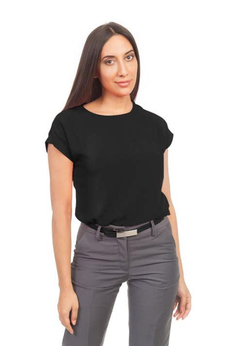 Blouse Jumbo Cities black corporate blouse s corporate uniforms