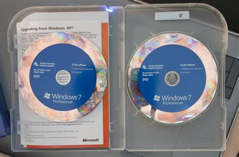 Windows Dvd 7 Original windows 7 upgrade duber s