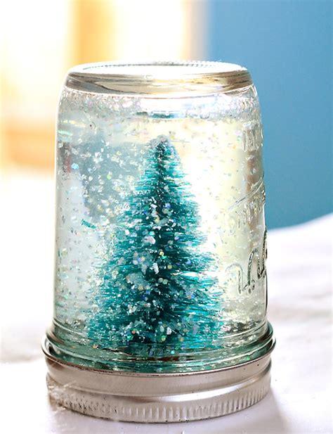 Handmade Snow Globes - jar snow globe tutorial julie