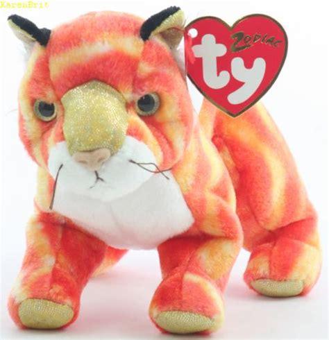 zodiac beanie babies ty beanie babies zodiac tiger