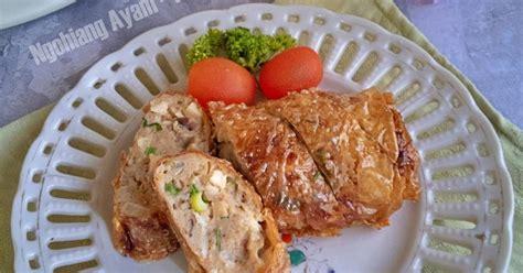 resep ayam ngohiong enak  sederhana cookpad