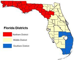 florida federal district court map florida federal courthouses courthouses of florida