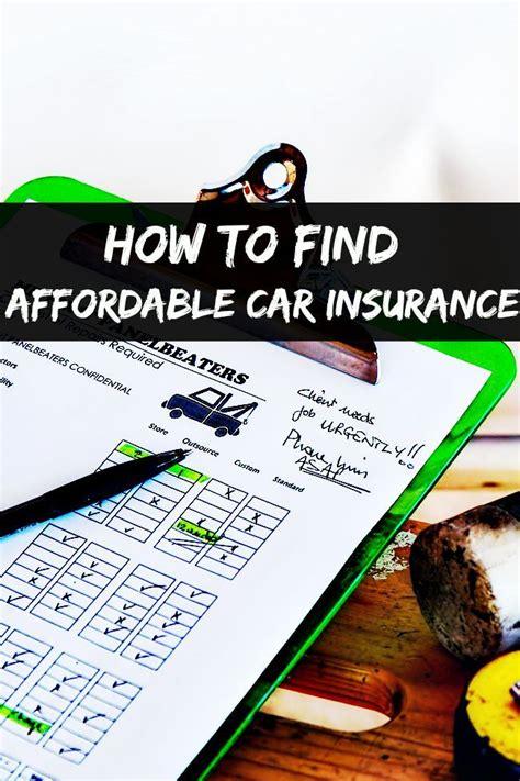affordable car insurance ideas  pinterest car