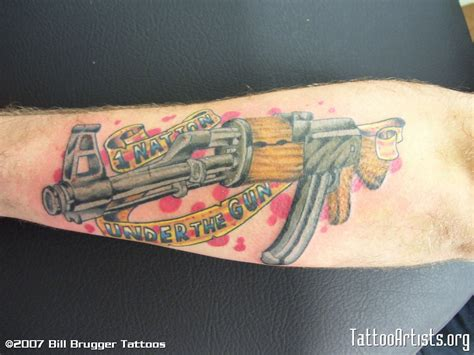 ak47 tattoo ak 47 artists org
