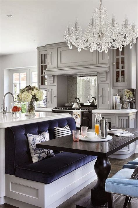 kitchen bench seating ideas i like the bench seating the back of the kitchen island design inspiration