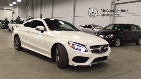 2017 C300 4matic Coupe by 2017 Mercedes C300 4matic Coupe Premium Edmonton