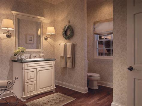 kraftmaid bathroom cabinets maple in canvas with cocoa glaze bathroom kraftmaid
