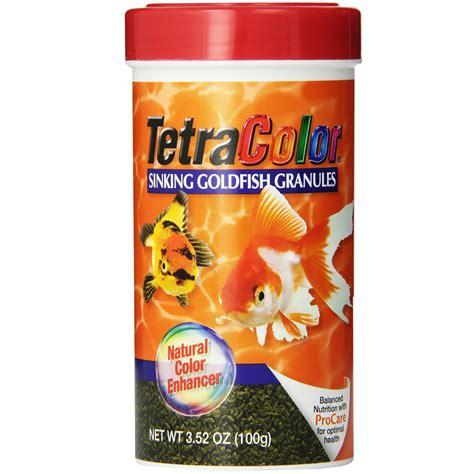 best sinking goldfish food tetracolor sinking goldfish granules 3 52 oz