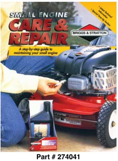 ce small engine care repair book