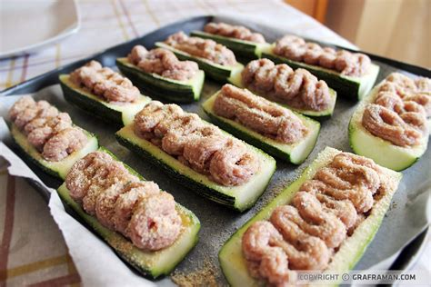cucinare le zucchine ripiene zucchine ripiene