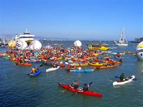 mccovey cove boat party 6 awesome spots for summer paddling in the bay area