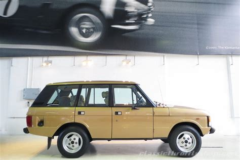 vintage range rover for sale 1983 range rover classic classic throttle shop