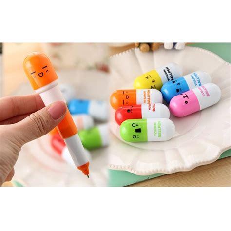 Pulpen Gel Kelinci 0 38mm Mc Creative Vitamin Pen Pulpen Multi Color