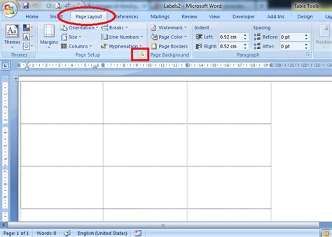 Membuat Undangan Word 2007 | tutorial membuat template label undangan di word 2007