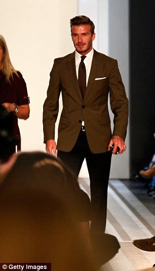 Can David Beckham Make American Athletes More Fashionable by Beckham Can T Contain Delight At New York