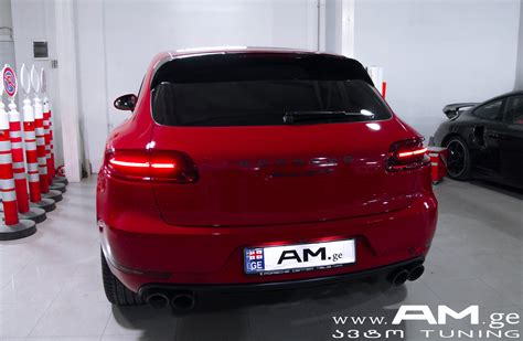 Auto Ge by Porsche Macan Gts 2016 Car Wrapping Auto Am Ge