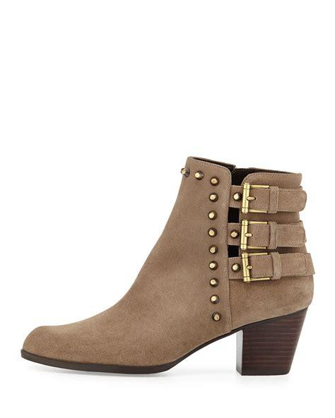stuart weitzman ankle boots stuart weitzman kickstart studded suede ankle boot in