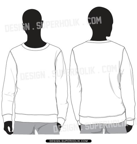 crewneck template crewneck sweatshirt template by superholik on deviantart