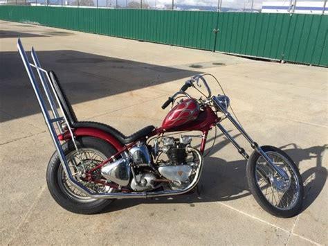 Triumph Motorrad 1950 by 1950 Triumph Pre Unit Survivor Chopper Vintage For Sale