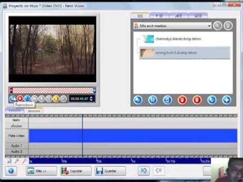 cortar un video como editar o cortar un video con nero youtube