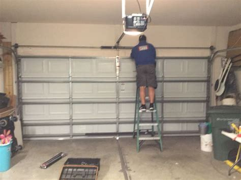Garage Door Unwound Fort Mill South Carolina Repair Replace Residential