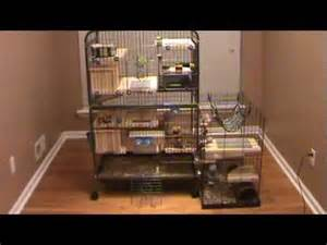 Cool House Plans custom design chinchilla cage tour youtube