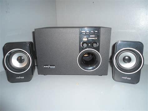 Speaker Advance Laptop surya abadi computer speaker advance m180bt
