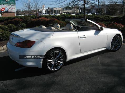 infiniti g37 convertible 2011 2011 infiniti g37 convertible 3 7l w premium bose