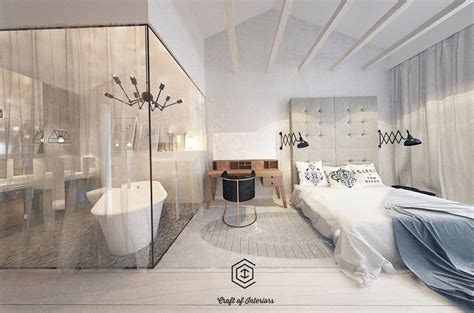 bath and bed 5 lovely homes in poland with soft feminine elements