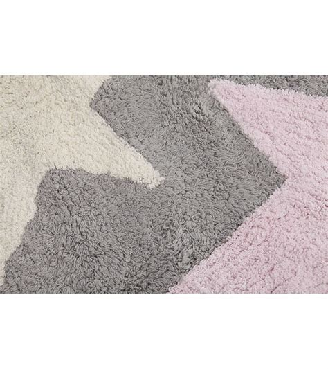 canals three tricolor rug grey pink 4 x 5
