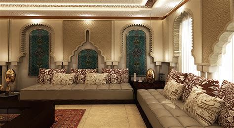 moroccan style decor in your home moroccan majlis on behance