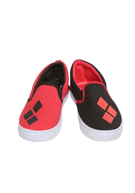 harley quinn canvas shoes for