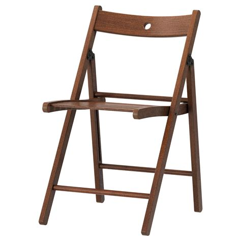 collapsible chair terje folding chair brown ikea