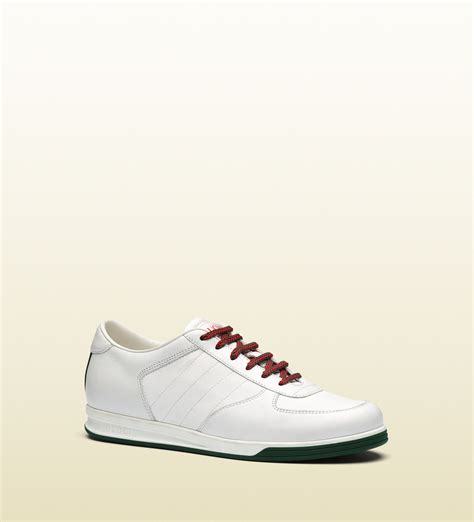 gucci 1984 low top sneaker in leather in white for lyst