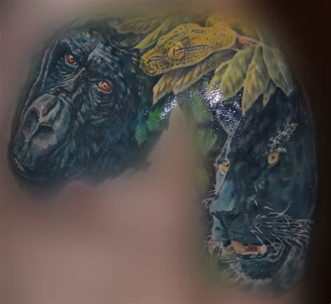 konkrete jungle tattoo 25 best ideas about jungle on tropical