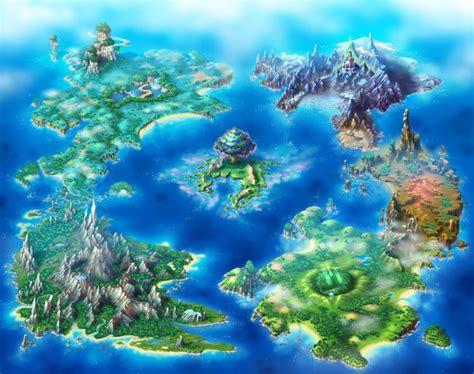 game design world map 聖剣伝説チルドレンオブマナ ゲームのワールドマップ 世界地図100選 naver まとめ world