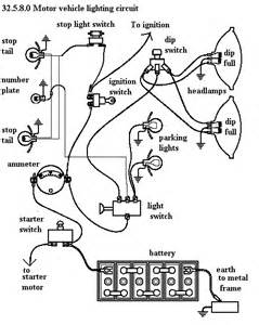Car Lighting System Diagram Unph32 6