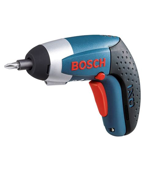 buy bosch ixo cordless screwdriver best prices snapdeal