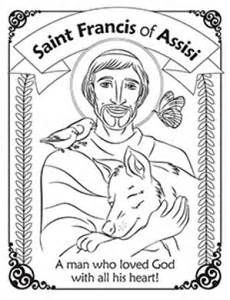 herald store free st francis of assisi coloring pages