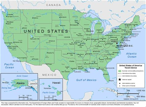 united states picture map how safe is united states of america safety tips crime