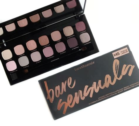 Eyeshadow Review bareminerals bare sensuals eyeshadow palette review