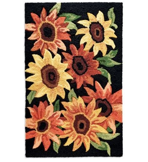 sunflower kitchen rugs washable 1000 images about home decor on cabin and concrete countertops