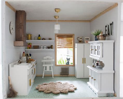 doll house makeover dollhouse kitchen reveal